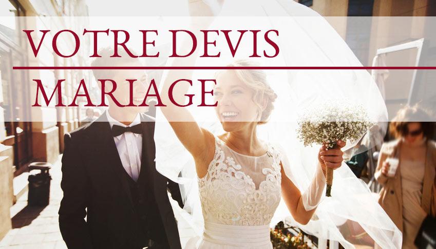 Votre devis mariage